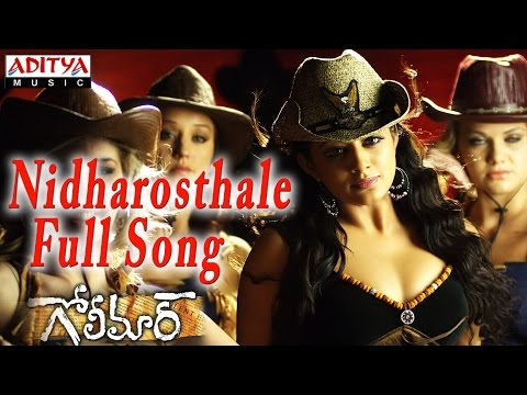 Nidharosthale Full Song Ll Golimaar Movie Ll Gopichand, Priyamani video