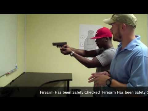 Introduction to Defensive Handgun Training: Grip & Stance Image 1