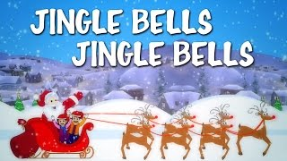 Jingle Bells Jingle Bells | Popular Christmas Carols With Lyrics | Songs For Kids