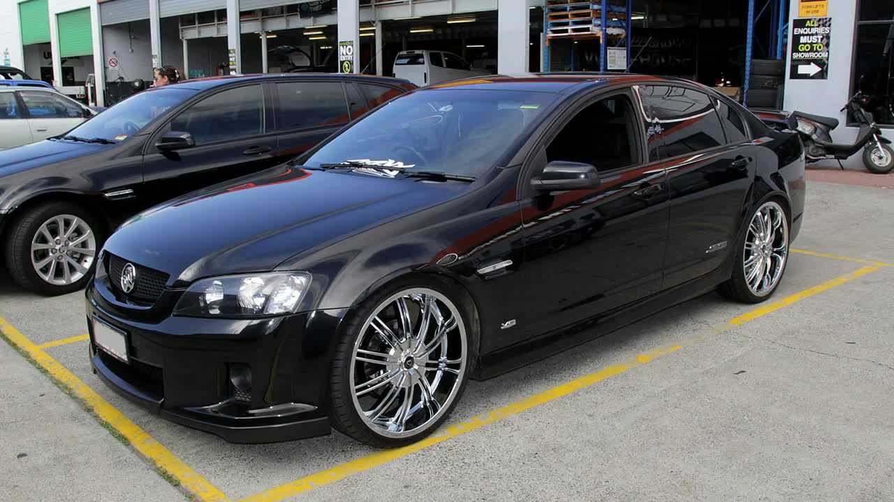 Holden Mag Wheels Ve Commodore Ss 22 Inch Ib842 Chrome
