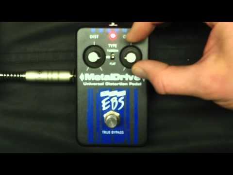 Test EBS MetalDrive Bass distortion