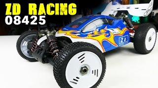 ZD Racing 08425 Unboxing: 1/8 Scale 4WD Brushless Buggy Under $225