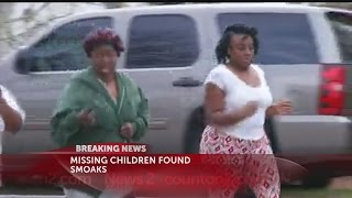 Three missing children found alive, located at a home nearby