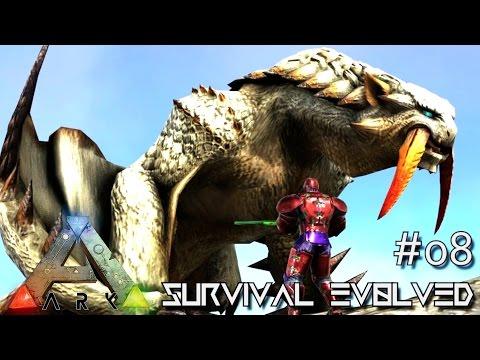 ARK: SURVIVAL EVOLVED - NEW ALPHA TAMES & BARIOTH MONSTER !!! E08 (ARK ANNUNAKI EXTINCTION CORE)