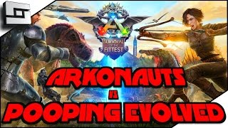 ARK: Survival Of The Fittest -ARKONAUTS VS POOPING EVOLVED! ( Gameplay ) E1