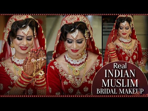 Real Indian Muslim Bridal Makeup | Step By Step Makeup Tutorial for Muslim Bride | Krushhh By Konica