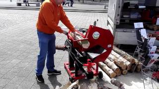 Profilogger HOME - small firewood processor