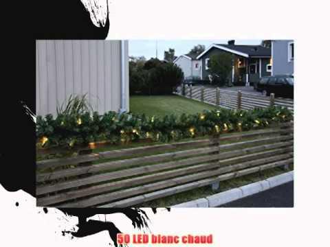 System led 465 90 extra guirlande lumineuse sapin led for Guirlande lumineuse exterieure blanche