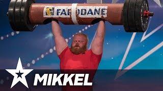 Stærke Mikkel I Danmark har talent 2018 I Audition 5