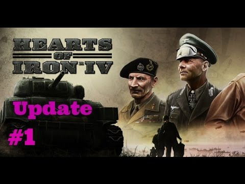 Hearts of Iron 4 News & Updates (HOI IV Update 1)