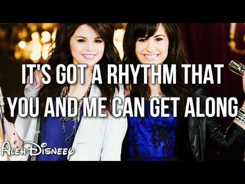 Selena Gomez ft Demi Lovato - One and the Same (Lyrics video) HD