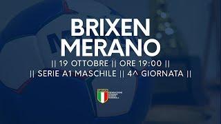 Serie A1M [4^]: Brixen - Alperia Merano 22-25