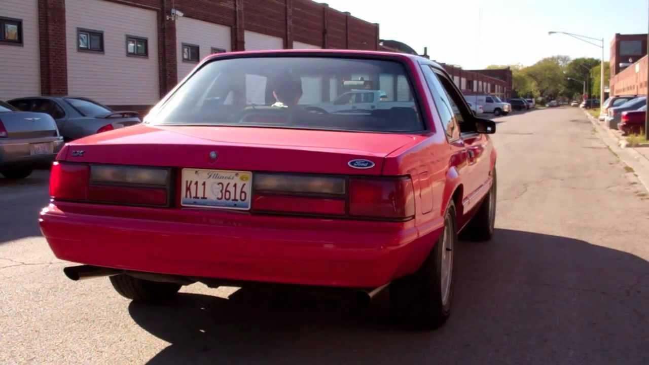 1993 Mustang 5 0 Slp Lm1 Hd Youtube