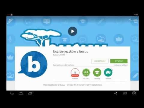 Aplikacja Androida Do Nauki Języka Busuu