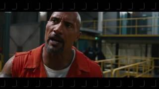 Jason Statham and The Rock Fight Scene (english)