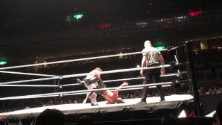 Shinsuke nakamura vs chris jericho WWE LIVE 07/01/2016