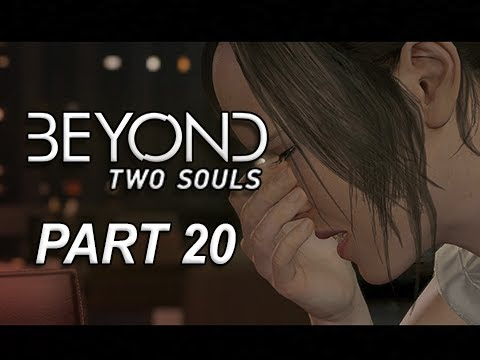 Beyond Two Souls Walkthrough Part 20 - The Dinner (Let's Play Gameplay Commentary)