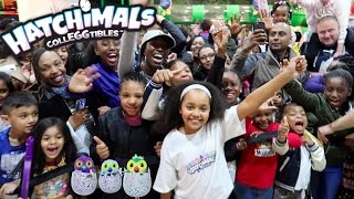 NEW Hatchimals CollEGGtibles! Birmingham Meet And Greet - Surprise Eggs For Fans | Toys AndMe