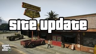 GTA V Site Update News (GTA 5) 9/13