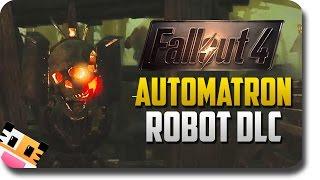 Fallout 4: Automatron DLC - Reborn As A God #1 (Fallout 4: Automatron DLC Funny Moments)