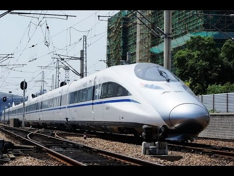 The fastest train in the world-china high speed railway