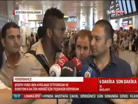 Yeni transferimiz Joseph Yobo İstanbul'da
