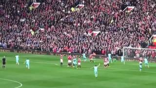 Dimitri Payet Perfect Freekick Goal Vs De Gea