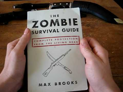 Book review of the Zombie survival guide by Max Brooks