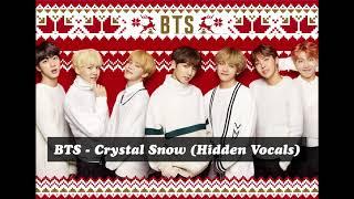 BTS - Crystal Snow (화음강조) Hidden vocals
