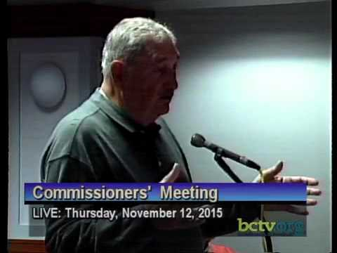 County of Berks Commissioners' Meeting. November 12th, 2015