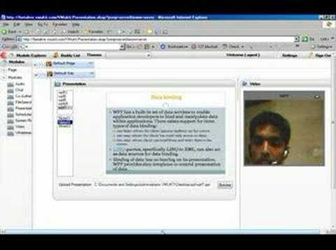 Videos on Online presentations and Audio Conferencing