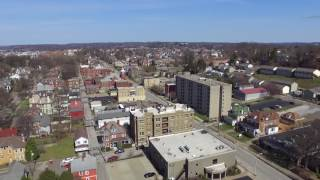 Parkersburg, West Virginia Drone Fly Over