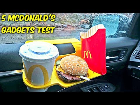 Cover Lagu 5 McDonald's Gadgets put to the Test!