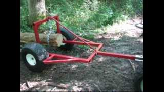 ATV Log Skidder Arch Hauler