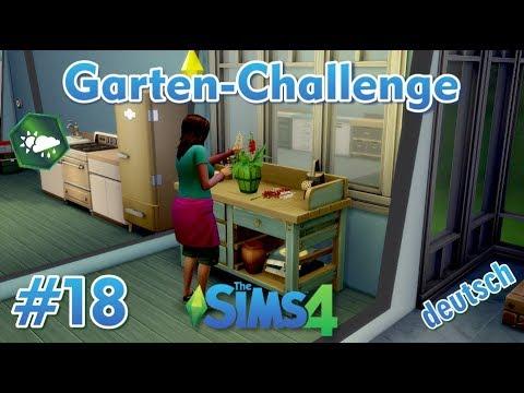 Sims 4 - Garten-Challenge - Rags-to-Riches #18 - Eine extra Blumen-Werkstatt für Lisa