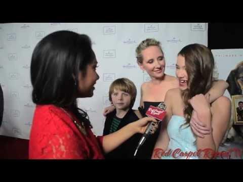 Griffin Kane, Anne Heche & Ali Skovbye at Hallmark's Premiere