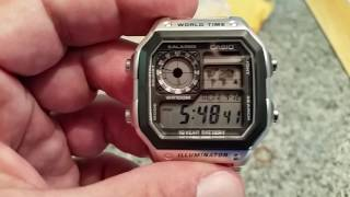 !Casio AE-1200 WHD World Timer-Surprise Unboxing!