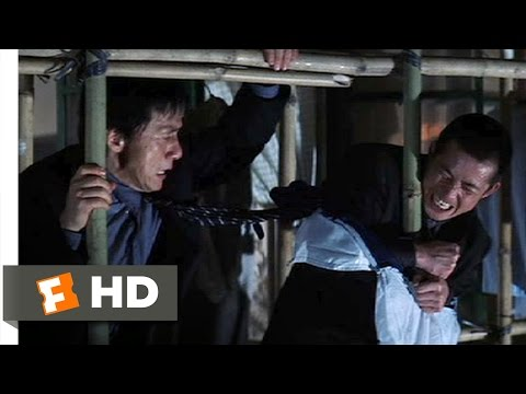 Rush Hour 2 Movie Clip - watch all clips http://j.mp/AczCA2 Buy Movie: http://j.mp/uW4e3X click to subscribe http://j.mp/sNDUs5 Lee (Jackie Chan) scales a ba...