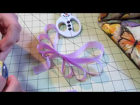 How to make a Dior Bow (aka Triple Loop bow) Tutorial VERY EASY