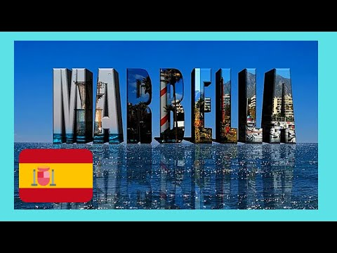 Beautiful MARBELLA, Costa Del Sol and the historic OLD TOWN (SPAIN)