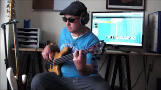 Babooshka    Kate Bush John Giblin Fretless bass on Warwick 96 streamer lx