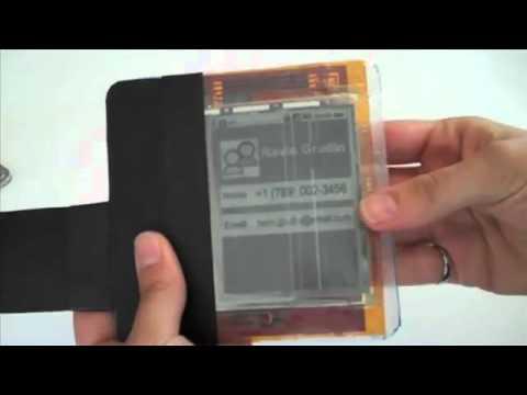 Teléfonos celulares del futuro  Paper Phone