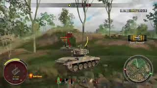 Raseiniai New Map 1 Vs 2 Walkthrough Xbox console world of tanks