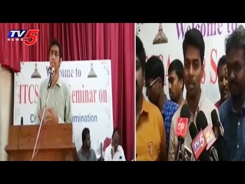 ITCSA 2018 Seminar on Civil Service Examination | Hyderabad | TV5 News