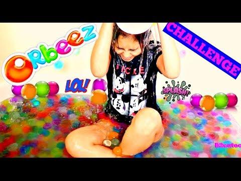 GIANT ORBEEZ BATH CHALLENGE!!!B2cutecupcakes