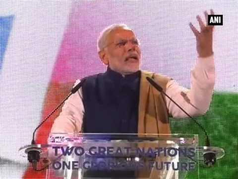 Terrorism, global warming threat to humanity: PM Modi (Part - 1)