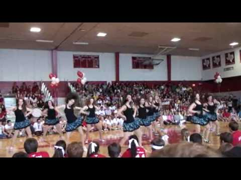 MHS 4CY Pep Rally 2010 Markette Officers - Work Video
