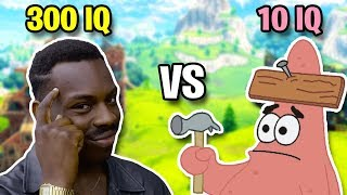 300 IQ VS 10 IQ (Best Fortnite Plays and Predictions)