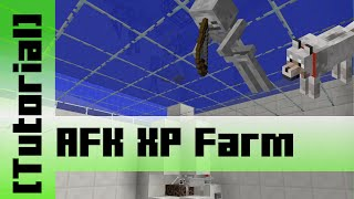 Dog Skeleton AFK XP Farm [Tutorial] Minecraft 1.8