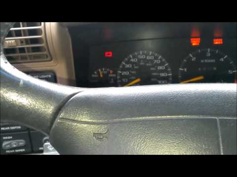 How To Fix Turn Signals/ Blinkers/Thermal Flashers On 1996 Chevy S-10 ...